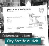 Referenzschreiben City-Streife Aurich